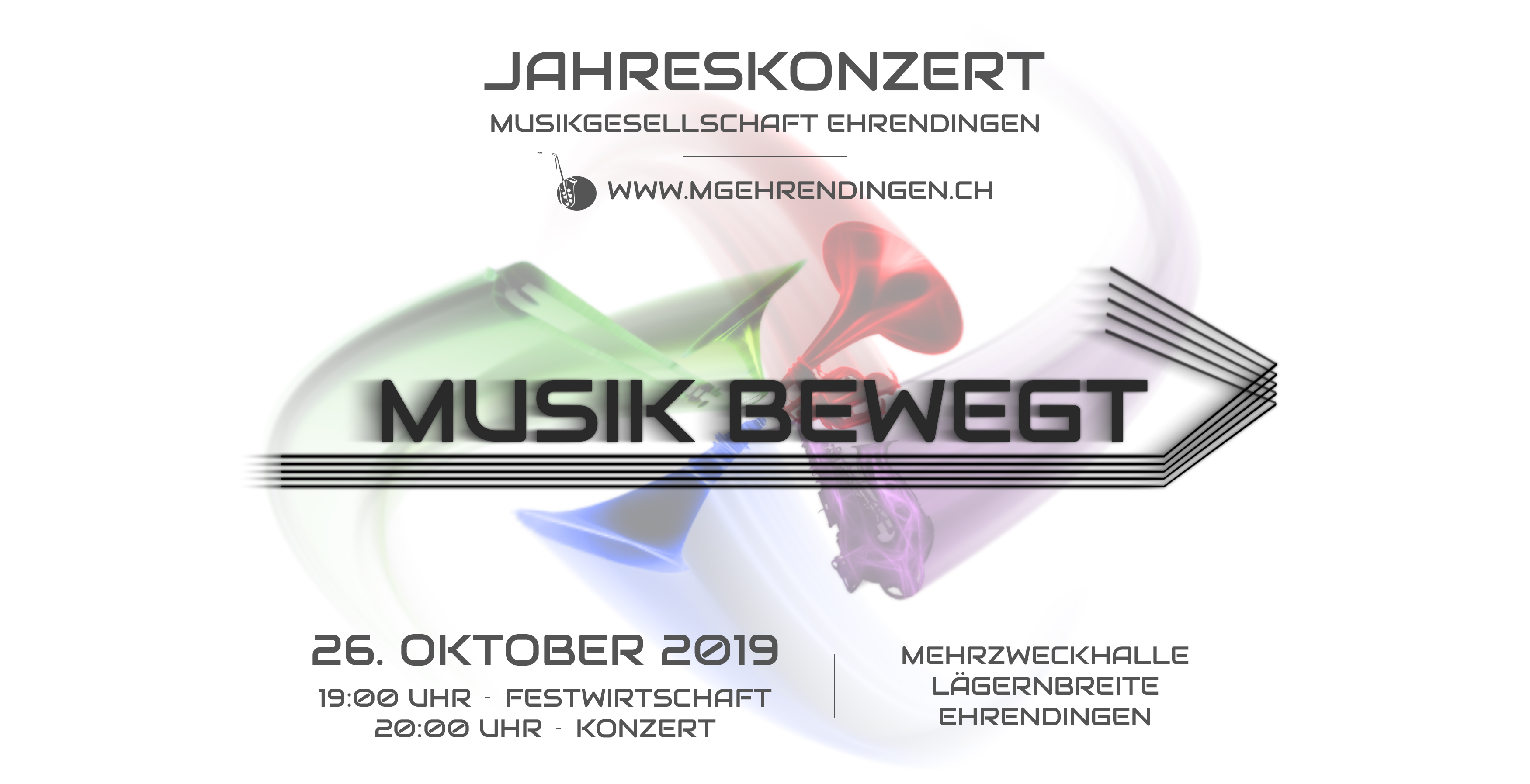 Flyer Jahreskonzert 2019 MGE